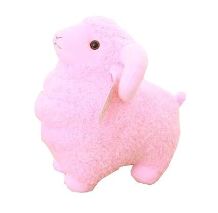 Amazon Com Pink Sheep Plush Toy Stuffed Animal Toy For Kids Child