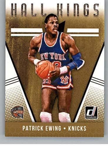 2018-19 Donruss Hall Kings Basketball Card #11 Patrick Ewing New York Knicks Official NBA Trading Card Produced By Panini