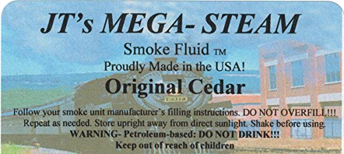 JT'S Mega-Steam Cedar Smoke Fluid