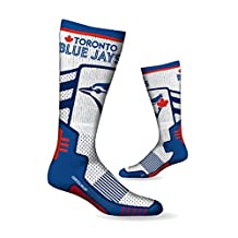 Toronto Blue Jays Men's High Performance Over The Calf Compression Sock