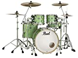 Pearl Masters Maple Complete MCT924XEDP/C348 4 Piece Drum Shell Pack, Absinthe Sparkle