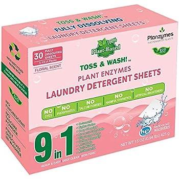 Amazon Com Plant Enzyme He Laundry Detergent Sheets