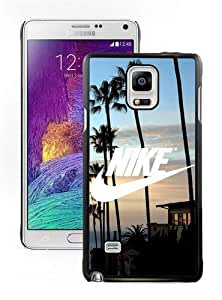 Fantastic Customized Nike Samsung Galaxy Note 4 Case Just do it Series 3 Black