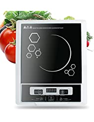 Pevor Portable Digital Electric Induction Cooktop Countertop Burner Cooktop Burner Cooker 2000W 110V (Shipping from