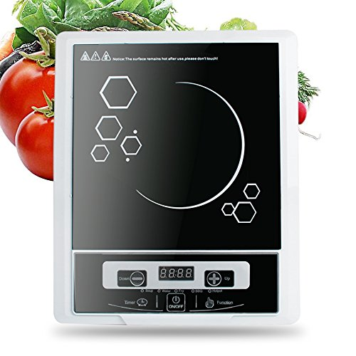 Pevor Portable Digital Electric Induction Cooktop Countertop Burner Cooktop Burner Cooker 2000W 110V (Shipping from USA) by Pevor