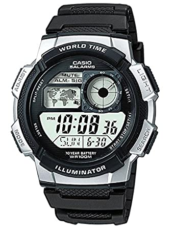be0da7999da Casio Men s Digital Watch with Resin Strap AE-1000W-1A2VEF  Amazon ...