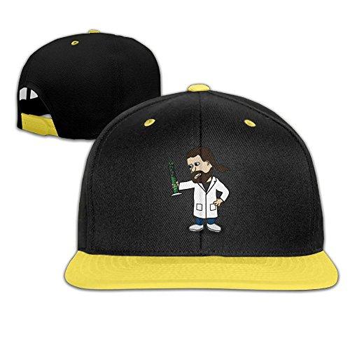 Qiop Nee Kids Hip Hop Baseball Caps and Hats Boys' Girls Creazy Chemical Doctor