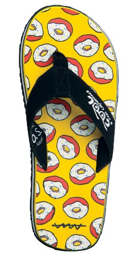 Slight Original Art Zehentrenner Donut Homer Cool Shoe Sandalen qw4xfRf6