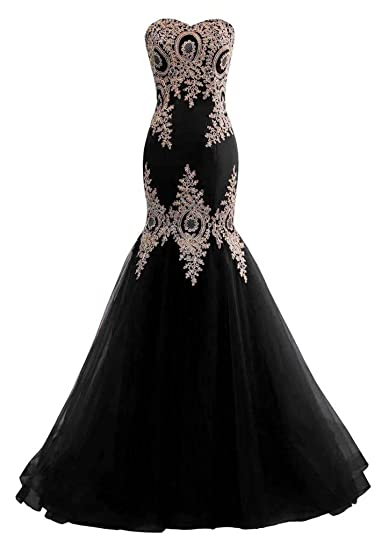 Changuan Mermaid Evening Dress For Women Backless Formal Long Prom