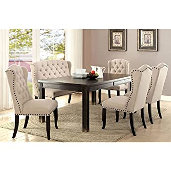 cheap tufted dining room chairs this item furniture chair set for sale grey with nailheads