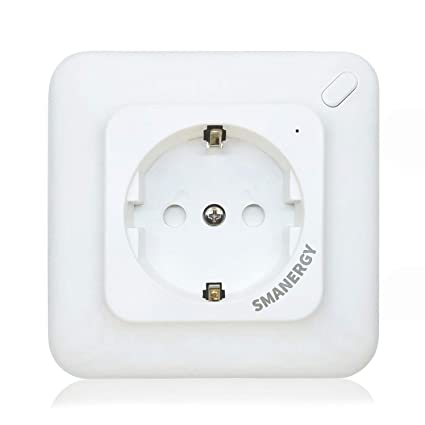 KA10 Enchufe Inteligente de Pared Wifi (Toma de corriente Schuko) Monitor de energía.
