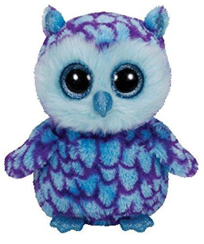 Ty Beanie Boos Oscar The Blue/Purple Owl Plush by Ty Beanie Boos (Beanie Owl Purple Boo)