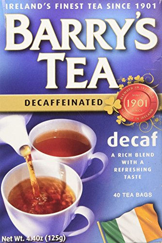 Decaffeinated Irish Tea - Barrys Tea Decaf