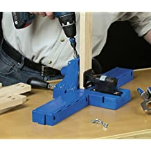 Cabinetmaking & Trim Combo! Kreg K5 Pocket-Hole Jig w/ FREE Cabinet Booklet, Trim DVD & 200 screws!