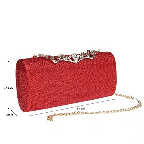 Pochette femme pour Puluo Puluo Red Red Puluo pour femme Pochette Pochette Puluo Red femme Pochette pour wzABvnzq