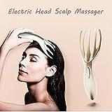 Sunward Electric Head Massager Neck Massage Tool,Comb Handheld Headache Relief Comb