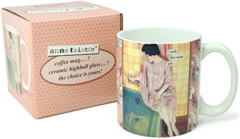 Anne Taintor Coffee Mug - I Wish This Were Gin