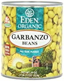 Eden Garbanzo Beans (Chick Peas), Organic, 29-Ounce (Pack of 6)