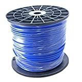 500ft Spool of 20awg Balanced Shielded Pro Audio Wire for XLR TRS 2 - Blue
