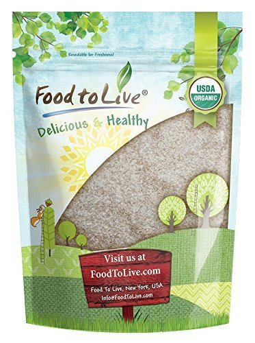 Organic Psyllium Husk Powder, 8 Ounces – Non-GMO, Kosher, Ultra Fine, Unsweetened, Unflavored, Rich in Fiber, Natural Food Thickener, Great for Baking, Raw, Bulk