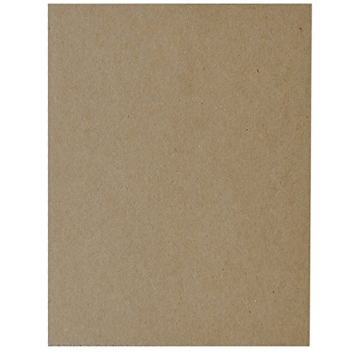 100-Count Springfield Industries 5 x 7 24-Point Chipboard for Mailing Protection /& Scrapbooking
