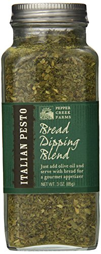 (Pepper Creek Farms Italian Pesto Bread Dipping Blend, 3 Ounce)