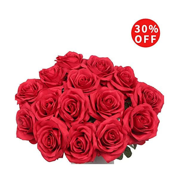 AmyHomie-Artificial-Flowers-Silk-Roses-Bouquet-Home-Wedding-Decoration
