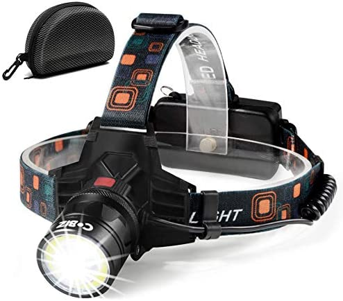 Led Headlamps Flashlight NEWEST Technology Rechargeable product image