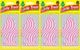 car bubble gum air freshener - Little Trees Bubble Gum Air Freshener, (Pack of 24)