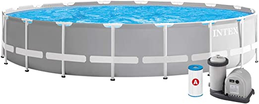 Intex 26756NP Piscina desmontable, con depuradora, 610 x 132 cm: Amazon.es: Jardín