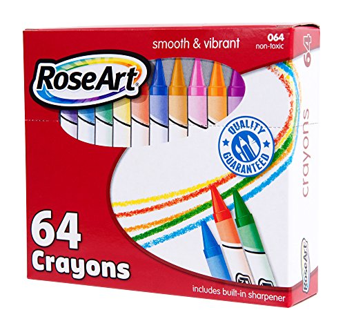 RoseArt 64-Count Crayons Packaging May Vary (CYR96) Photo #2