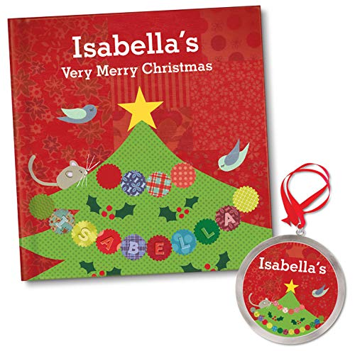 (Personalized Christmas Book Baby's First 1st Christmas Ornament)