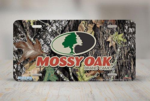 Mossy Oak License Plate - 8000-