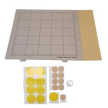 Wendry Plataforma de Cama Caliente para Impresora 3D, Placa de ...
