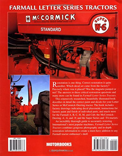 farmall letter series tractors originality guide guy fay andy rh amazon com F- Series Farmall Tractors IH Farmall Tractors