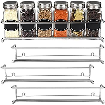 Amazon Com The Invisible Acrylic Spice Rack Strong