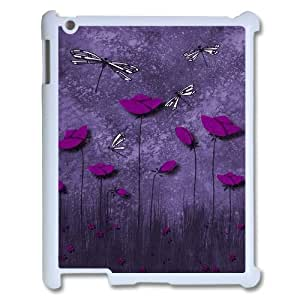 Beautiful Dragonfly Unique Design Cover Case for Ipad2,3,4,custom case cover ygtg-310097