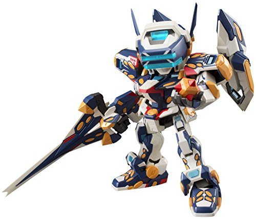 Megahouse Cyber Soldiers Virtual-On Marz: Temjin 7 47 J Variable Action D-Spec Action Figure by Megahouse