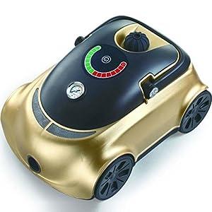 Syntrox Germany 2200 Watt 5,5 Bar Dampfreiniger Car Design Gold