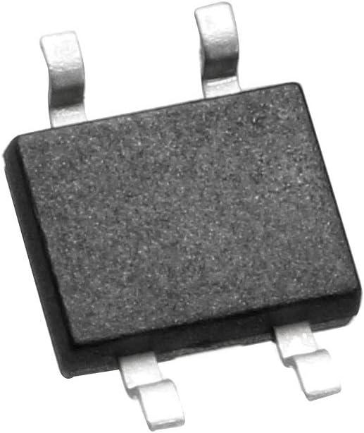Sourcing map Lot de 50 redresseurs de diode MB10F46MIL 4 bornes SMD 94 V 0,8 A