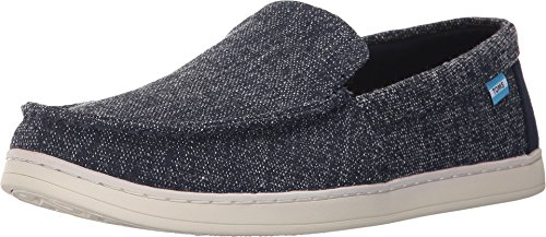 (TOMS Men's Aiden Navy Two-Tone Woven 8 D US )