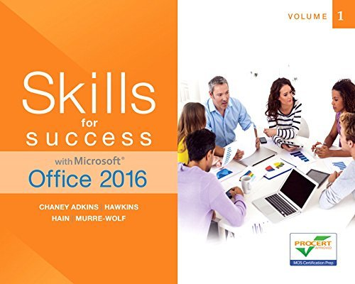 Skills for Success with Microsoft Office 2016 Volume 1 (Skills for Success for Office 2016 Series) by Margo Adkins (2016-02-03)