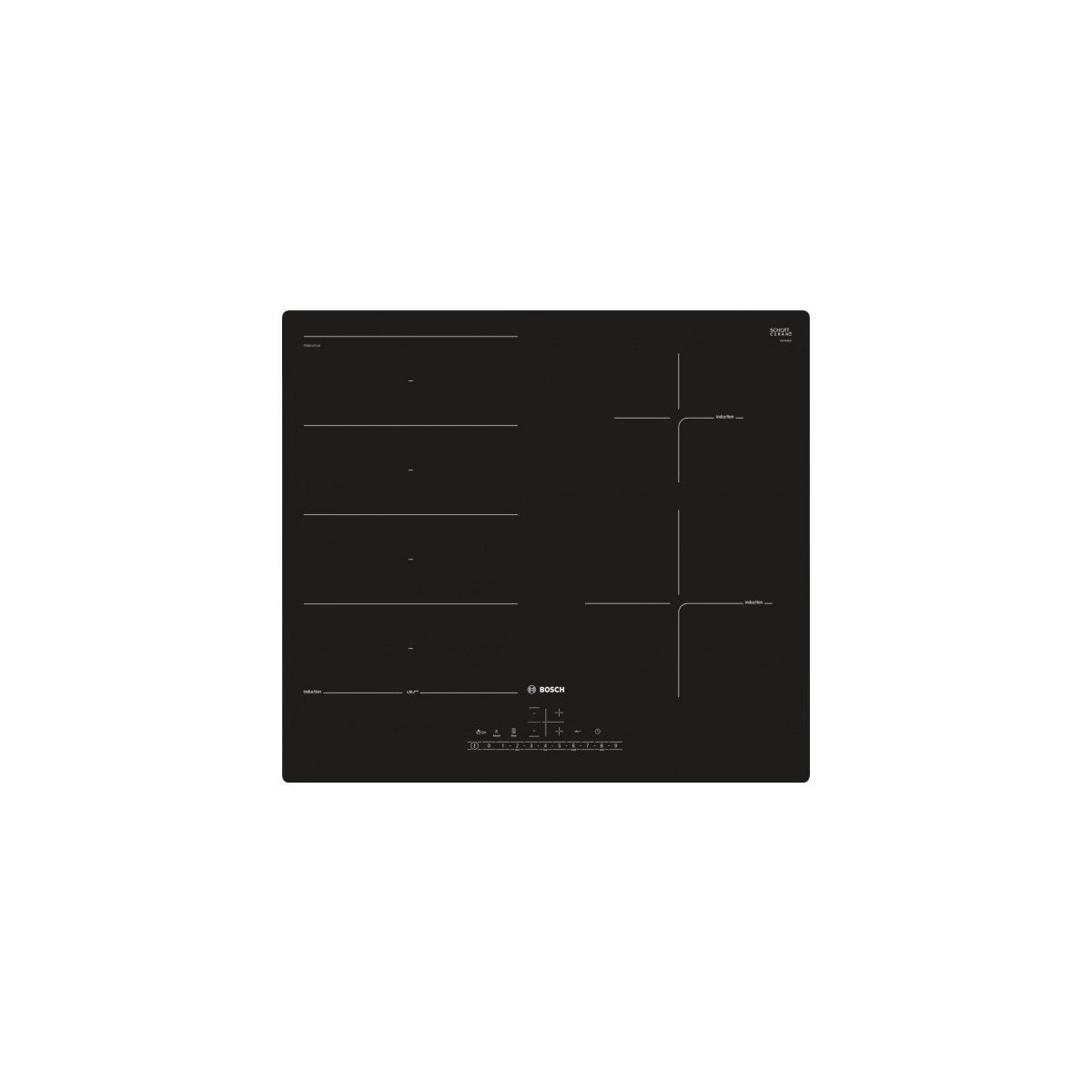 Bosch pxe611fc1e placas de vitrocerámica: Amazon.es: Grandes ...