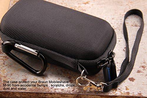 Supremery Bolsa para Braun M90 / M60b / M60 / PocketGo MobileShave ...