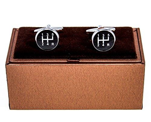 mrcuff-car-auto-5-speed-gear-stick-shift-knob-cufflinks-with-a-presentation-gift-box-polishing-cloth