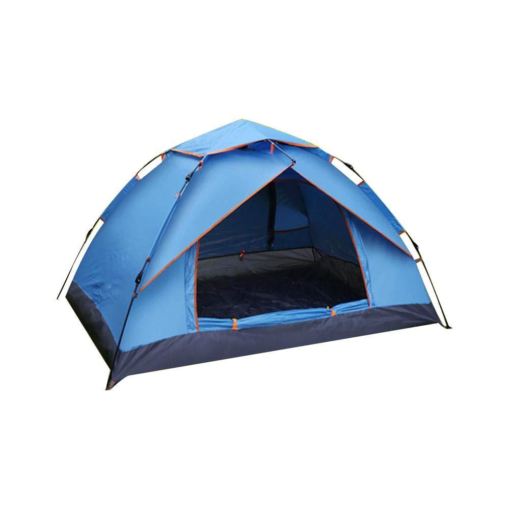 Urben Life Outdoor Wasserdichtes Pop Up Zelt 3-4 Personen Leichtes Wurfzelt mit Tragetasche für Trekking Camping Outdoor Festival Fischen