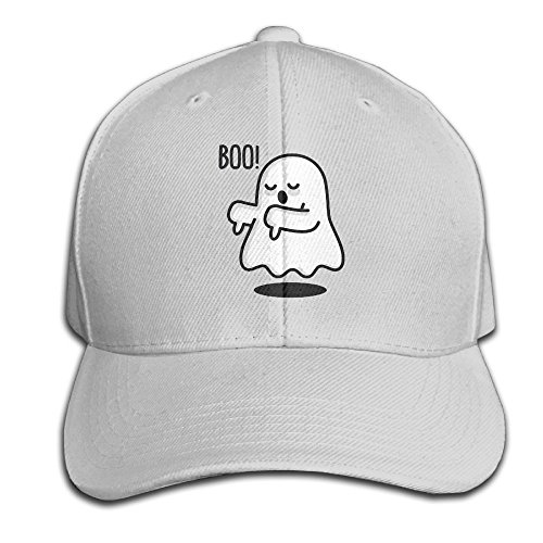Ghost Boo Dad Hat Baseball Cap Peaked Trucker