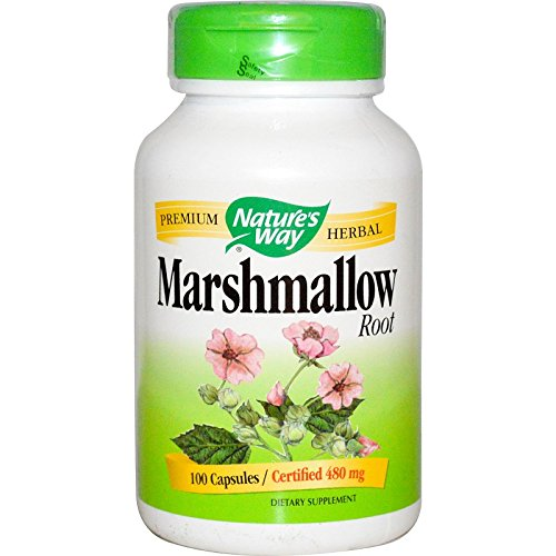 Nature's Way Marshmallow Root 480mg 100 caps (Pack of 3)
