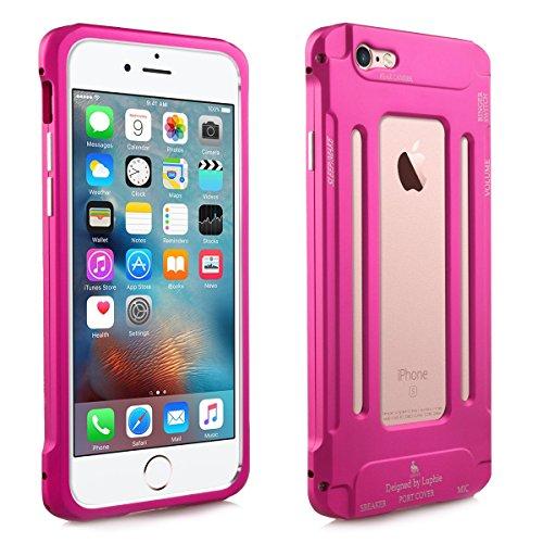 Alienwork Coque pour iPhone 6 Plus/6s Plus Anti chocs Case Etuis Housse mode Aluminium rose AP6SP07-05