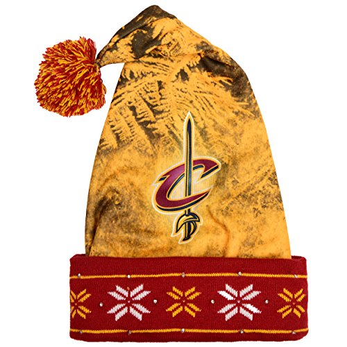 Cavaliers Santa - FOCO Cleveland Cavaliers Light Up Santa Hat